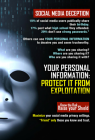 Download the NCSC Social Media Deception Poster