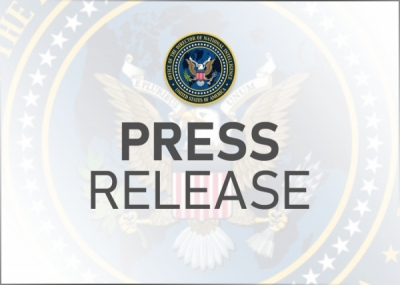 Acting DNI Grenell Applauds Senate Confirmation of NCSC Director Bill Evanina