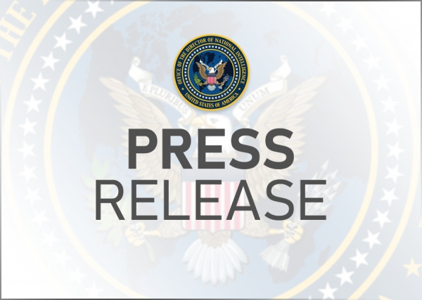 Acting DNI Grenell Announces ODNI Organizational Changes