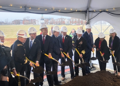 Acting Director Maguire Attends Groundbreaking Ceremony for NGA West Campus