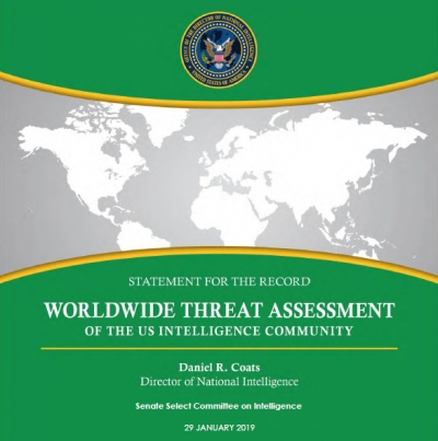 Statement for the Record: 2019 Worldwide Threat Assessment of the U.S. Intelligence Community
