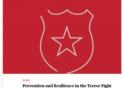 Time Magazine: Prevention and Resilience in the Terror Fight