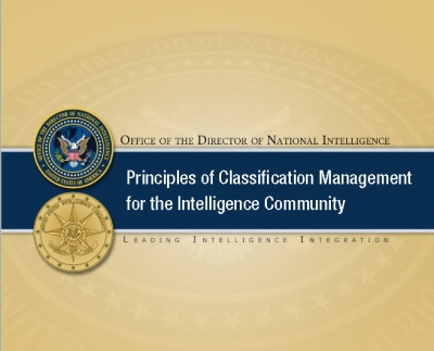Principles of Classification Management for the IC