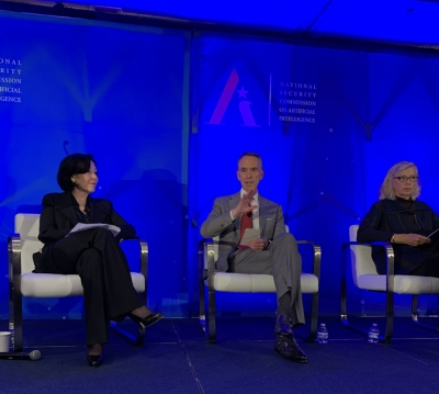 Principal Executive Hallman Panelist at AI Conference in Washington