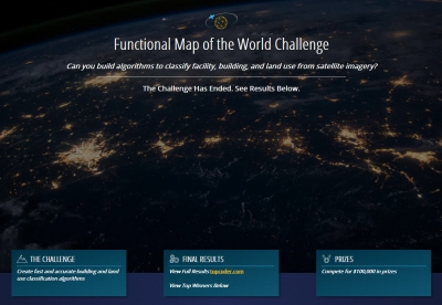 IARPA Announces the Winners of the Functional Map of the World Challenge