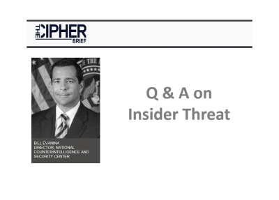 Tackling insider threat — everything from leaking classified information to potential workplace violence