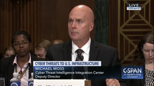 Statement for the Record Mr. Michael Moss Deputy Director of the Cyber Threat Intelligence Center Hearing on Cyber Threats to Our Nation's Critical Infrastructure